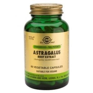 Solgar Astragalus Root Extract 60 cápsulas vegetais