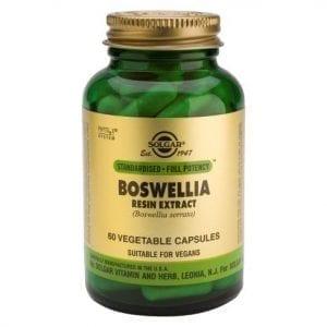 Solgar Boswellia Resin Extract 60 cápsulas vegetais
