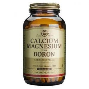 Solgar Calcium Magnesium Boron 100-250 comprimidos