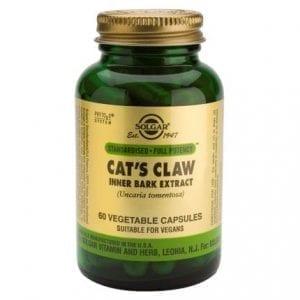 Solgar Cat's Claw 60 cápsulas vegetais