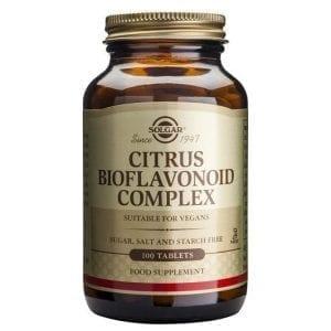 Solgar Citrus Bioflavonoid Complex 100 comprimidos