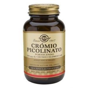 Solgar Crómio Picolinato 90 cápsulas vegetais