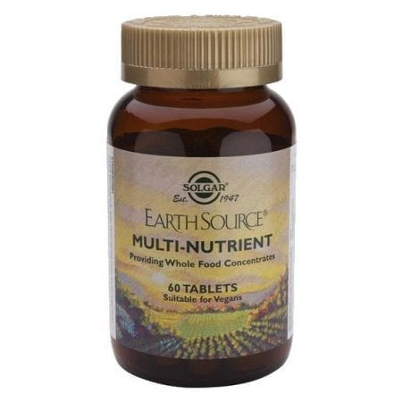 Solgar Earth Source Multi-Nutrient 60 comprimidos