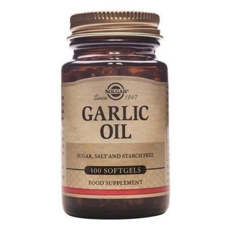Solgar Garlic Oil 100 cápsulas moles