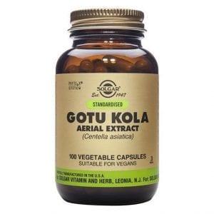 Solgar Gotu Kola 100 cápsulas vegetais