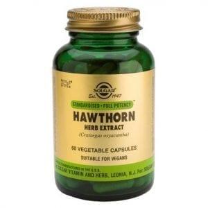 Solgar Espinheiro-Branco (Hawthorn) 60 cápsulas vegetais