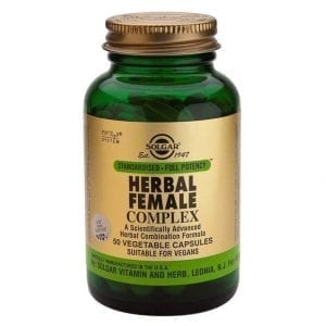 Solgar Herbal Female Complex 50 cápsulas vegetais