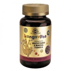 Solgar Kangavites Berry Formula 60 comprimidos mastigáveis