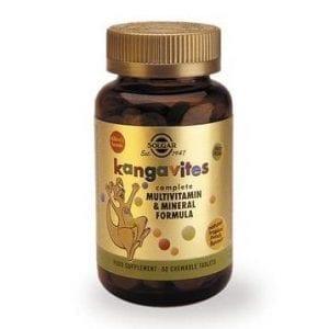 Solgar Kangavites Tropical 60 comprimidos mastigáveis