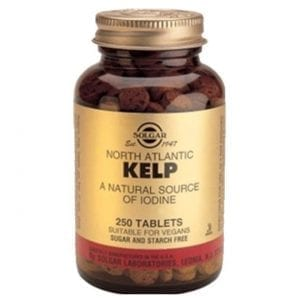 Solgar Kelp (North Atlantic) 250 comprimidos