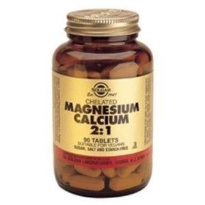 Solgar Magnesium Calcium 2:1 90 comprimidos