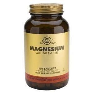 Solgar Magnesium with Vitamin B6 250 comprimidos