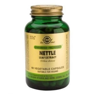 Solgar Nettle Leaf Extract 60 cápsulas vegetais
