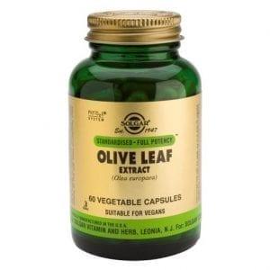 Solgar Olive Leaf 60 cápsulas vegetais
