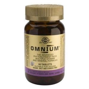 Solgar Omnium 30-60 comprimidos