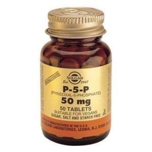 Solgar P-5-P Pyridoxal-5-Phosphate 50mg 50 comprimidos