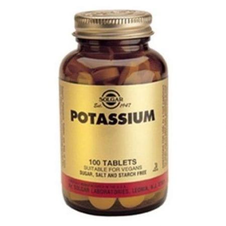 Solgar Potassium 100 comprimidos