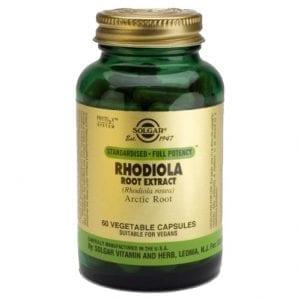 Solgar Rhodiola 60 cápsulas vegetais