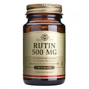 Solgar Rutina 500mg 50 comprimidos