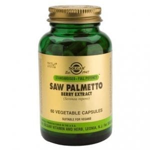 Solgar Saw Palmetto Berry Extract 60 cápsulas vegetais