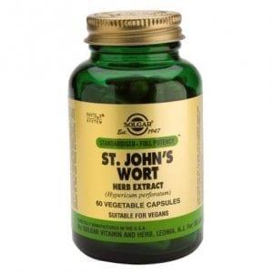 Solgar St. John's Wort Herb Extract 60 cápsulas vegetais