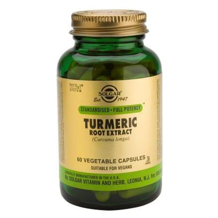 Solgar Turmeric 60 cápsulas vegetais