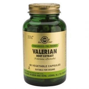 Solgar Valerian 60 cápsulas vegetais