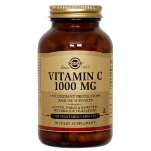 Solgar Vitamin C 1000mg 100 cápsulas vegetais
