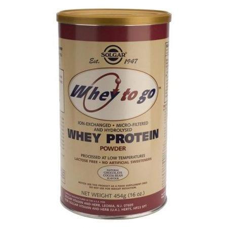 Solgar Whey to Go (Proteína em pó - Chocolate) 454g