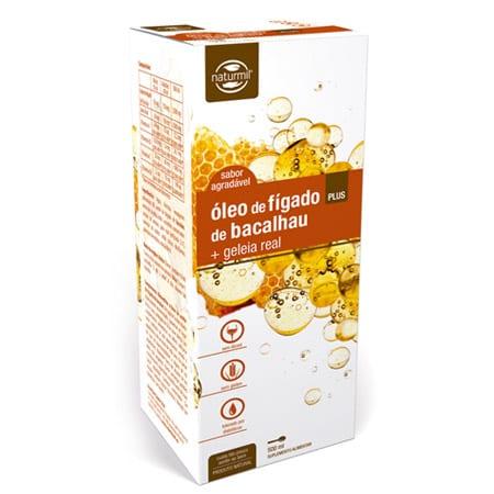 Óleo de Fígado de Bacalhau + Geleia Real Plus 500ml