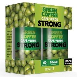 Novity Café Verde Strong 60 + 60 cápsulas