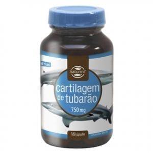 Naturmil Cartilagem de Tubarão 750mg 90-180 cápsulas