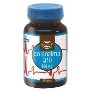 Naturmil Co-Enzima Q10 Plus 100mg 60 cápsulas