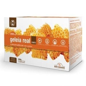 Naturmil Geleia Real Forte 2000mg 20 ampolas 15ml