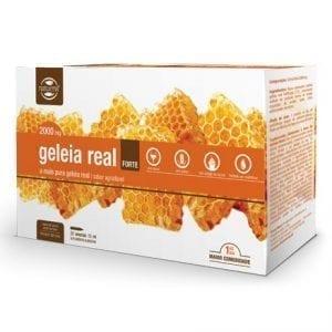 Geleia Real Forte 2000mg 20 ampolas