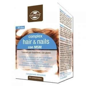 Complex Hair & Nails com MSM 60 comprimidos