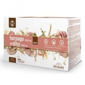 Naturmil Harpago 1400mg + Alho 1400mg Forte 20 ampolas 15ml