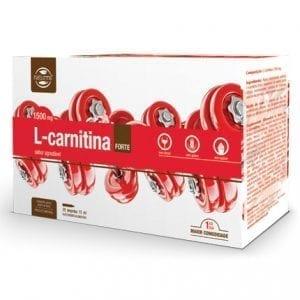 L-Carnitina Forte 1500mg 20 Ampolas
