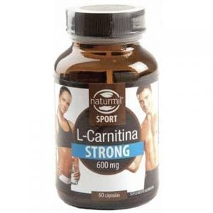 L-Carnitina Strong 600mg 60 cápsulas