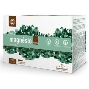 Naturmil Magnésio Forte 3000mg 20 ampolas 15ml