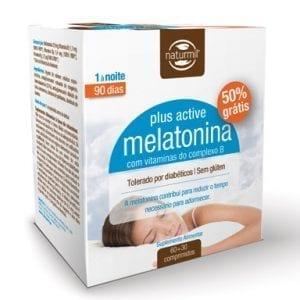 Melatonina Plus Active 60 comprimidos + 30 Grátis