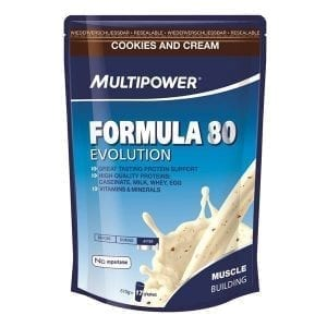 Multipower® Fórmula 80 Evolution Bolacha 510g