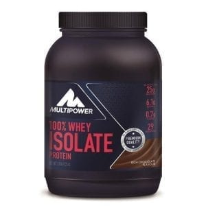 Multipower® 100% Whey Isolate Protein Morango 725g