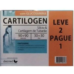 Cartilogen com Glucosamina 90+90 cápsulas – Leve 2 Pague 1