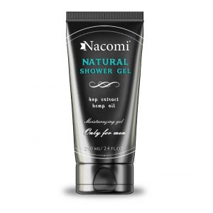 Nacomi Natural Shower Hop Extract Hemp Oil Only For Men 250ml