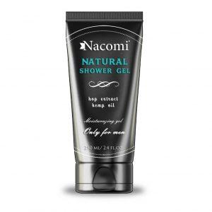 Nacomi Natural Shower Hop Extract Hemp Oil Only For Men 250ml