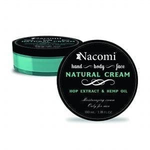 Nacomi Natural Cream Hop Extract Hemp Oil Only For Men 100ml