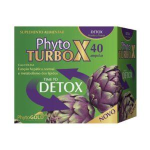 Phytogold® Phyto Turbo X Detox 40 ampolas