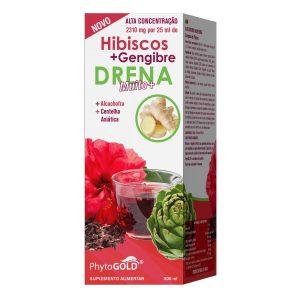 Phytogold Hibiscos + Gengibre Drena Muito+ 500ml