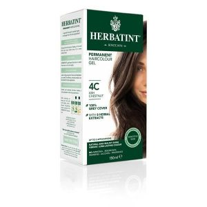 Herbatint 4C Castanho Cinza Gel Colorante Capilar 150ml